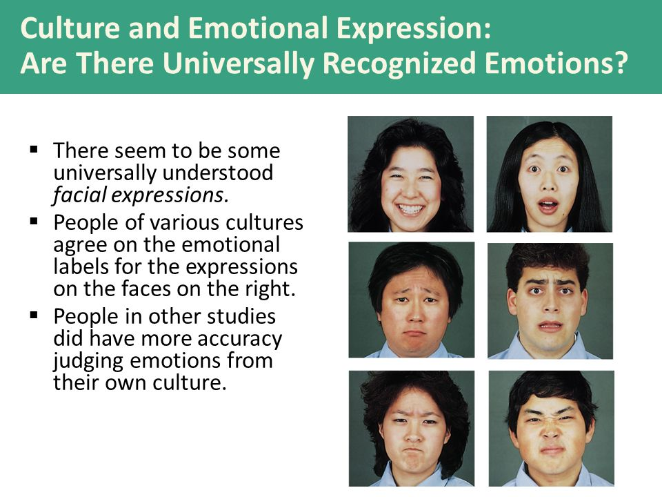 Emotion Detection and Context Cues  What emotions do you see below.