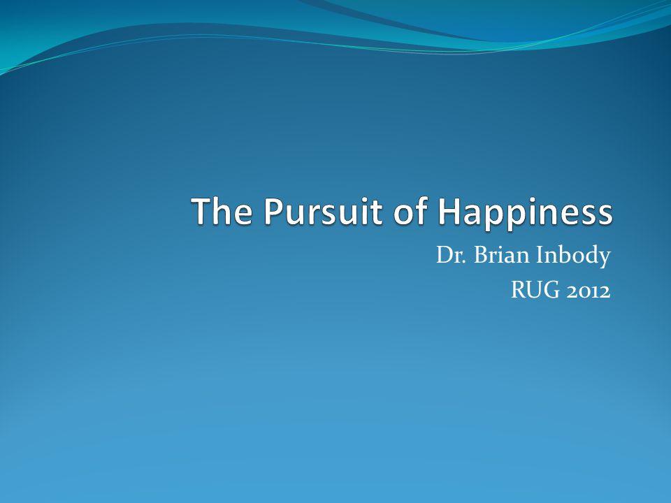 Dr. Brian Inbody RUG 2012