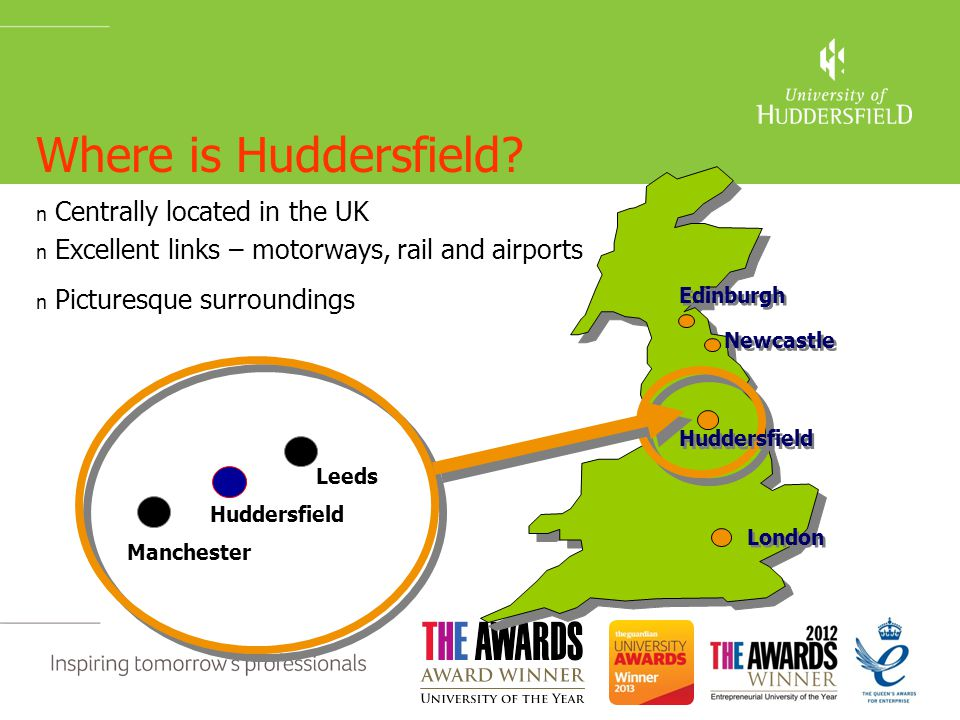 Where is Huddersfield.