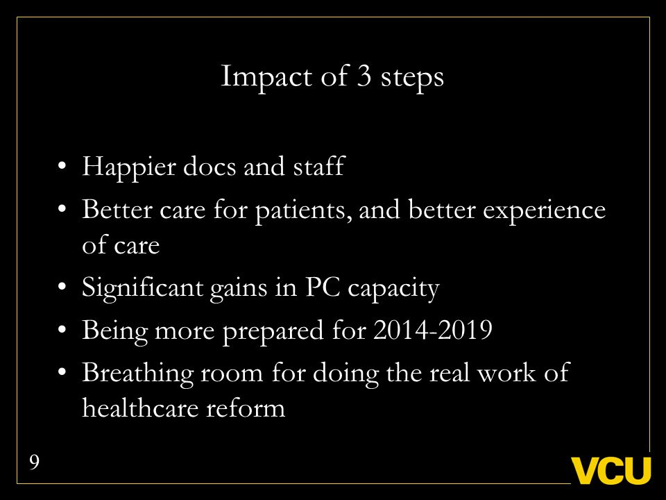 Steps one and three are easy to understand, but step two is the most important And the hardest to achieve Offer two ways of how to improve team function 10