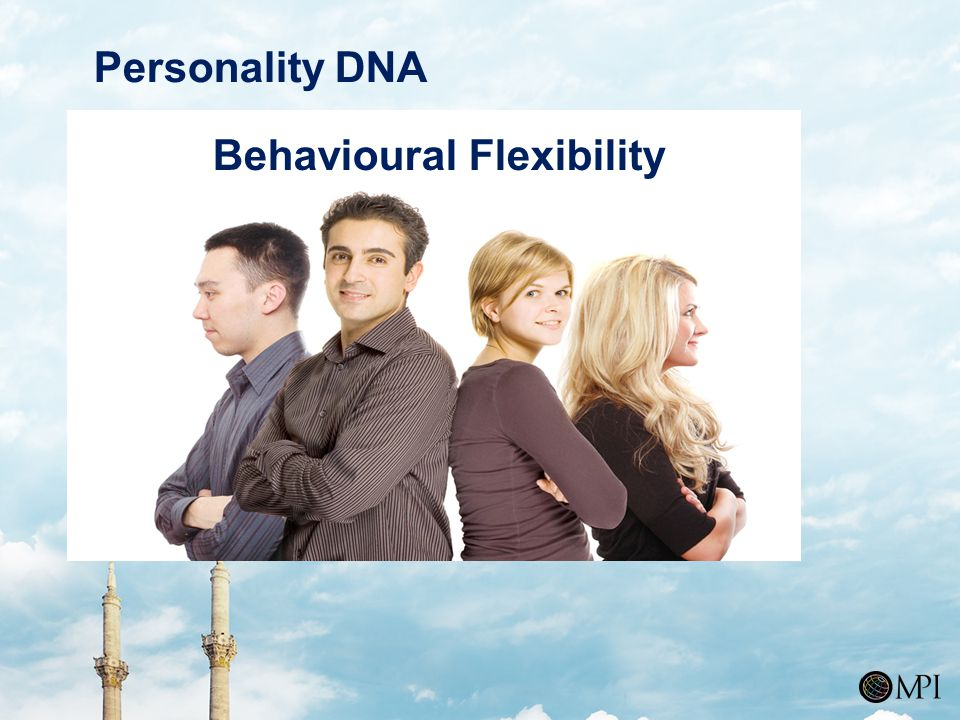 Personality DNA Behavioural Flexibility