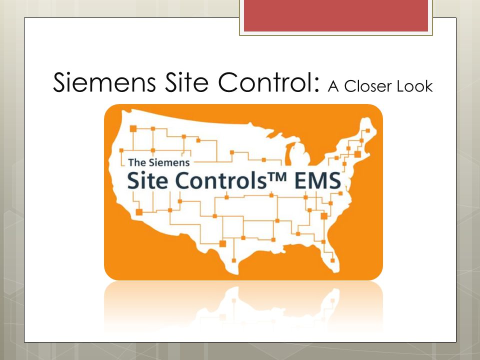 Siemens Site Control: A Closer Look