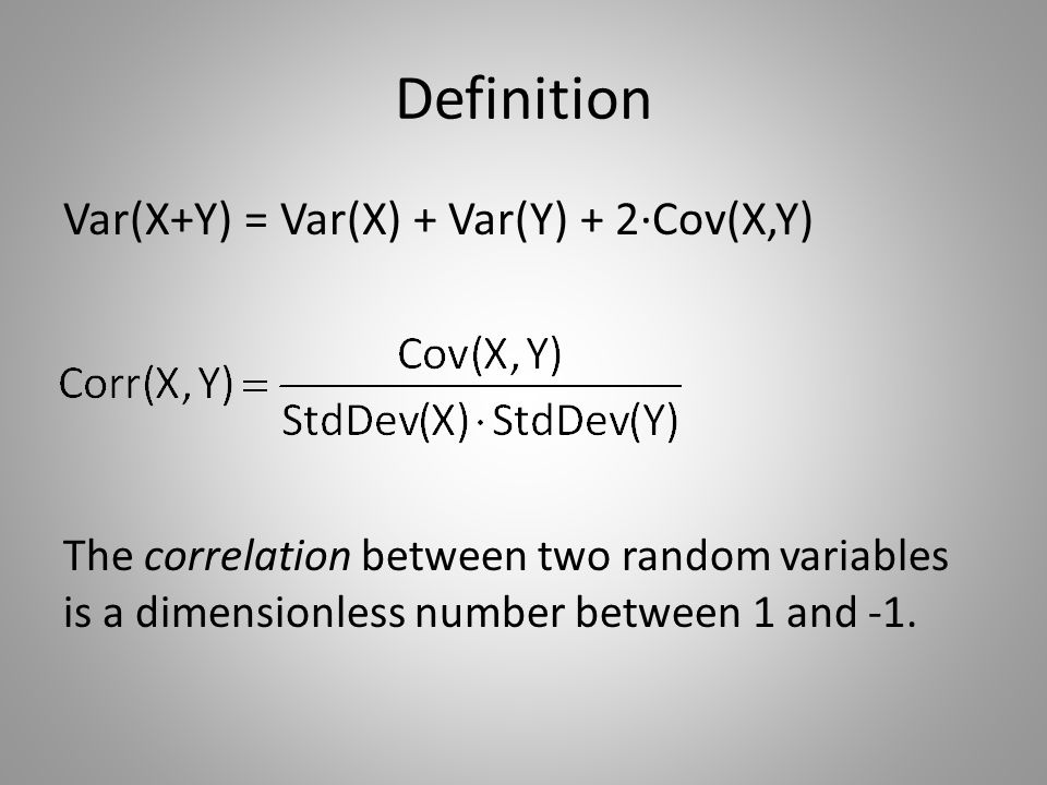 Interpretation Correlation measures the strength of the linear relationship between two variables.