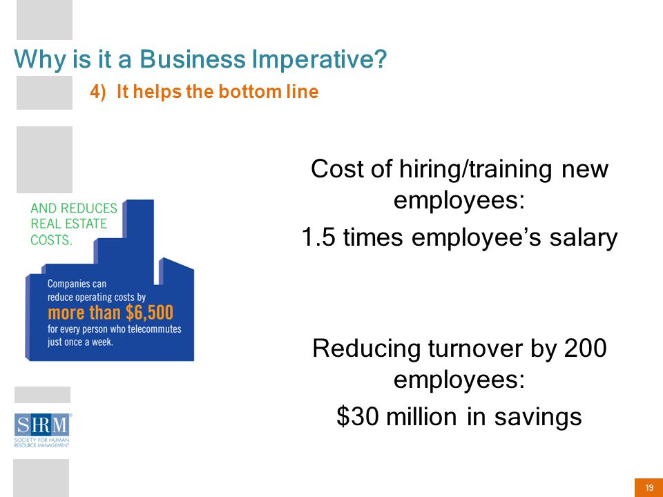 19 Why is it a Business Imperative.