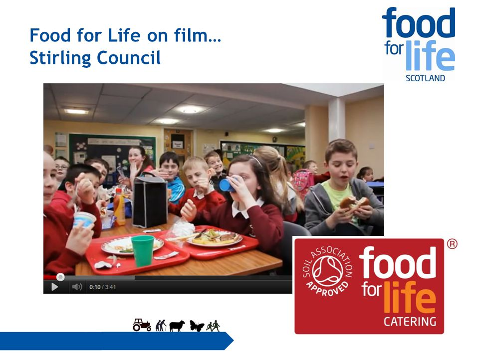 Food for Life on film… Stirling Council
