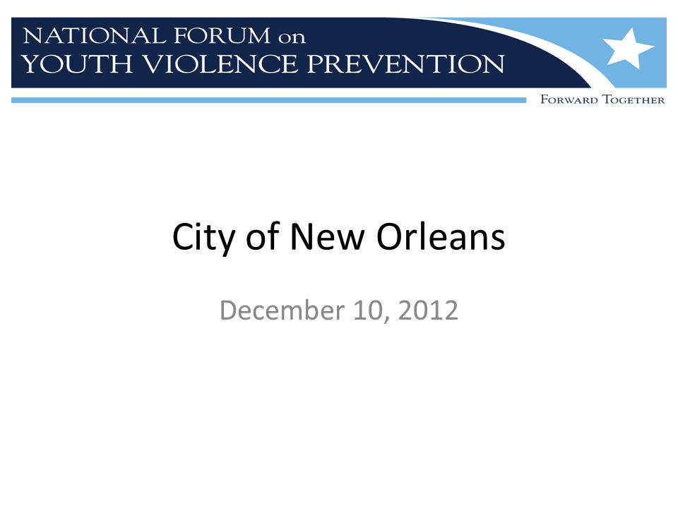 New Orleans Working Session Team Dr.