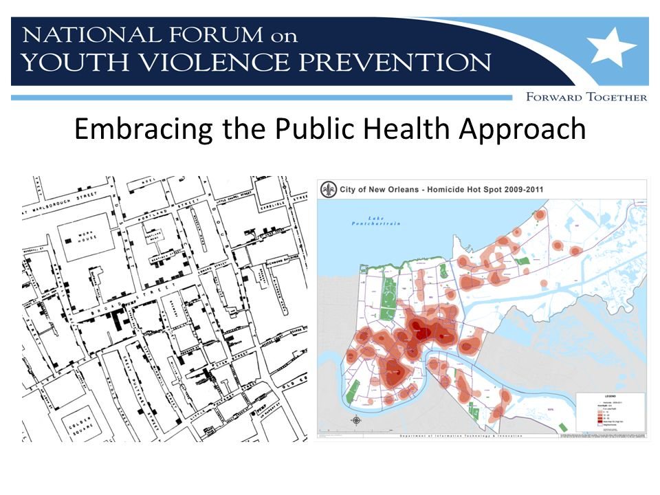 What does the public health approach bring to the table.