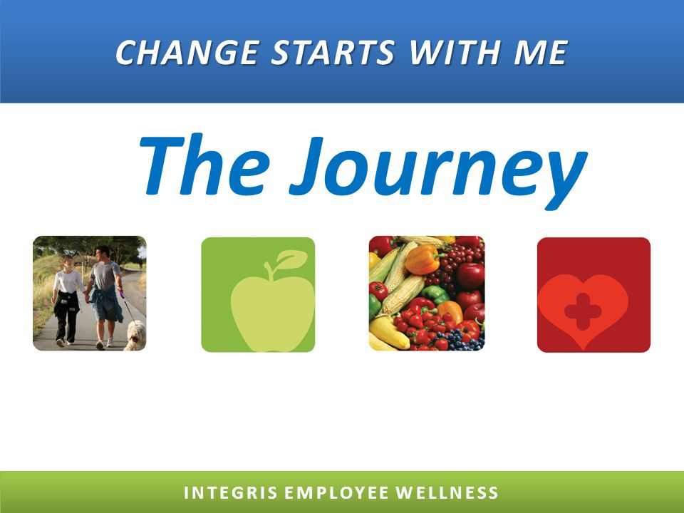 The Journey INTEGRIS EMPLOYEE WELLNESS CHANGE STARTS WITH ME