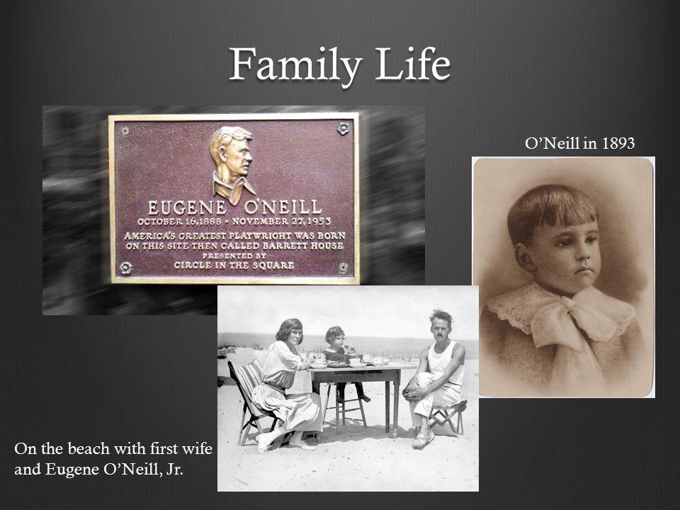 Agnes Boulton, Eugene Jr, Eugene O'Neill in happier times