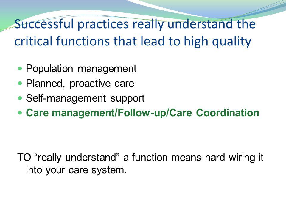 Steps for improving care coordination 17 1.
