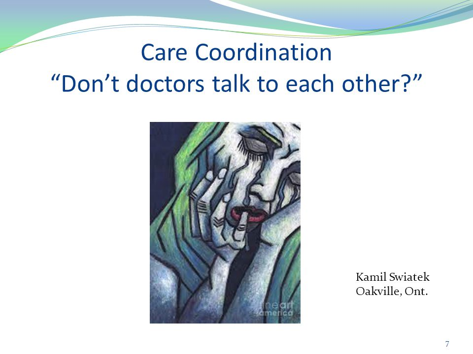 Steps for improving care coordination (cont.) 18 2.