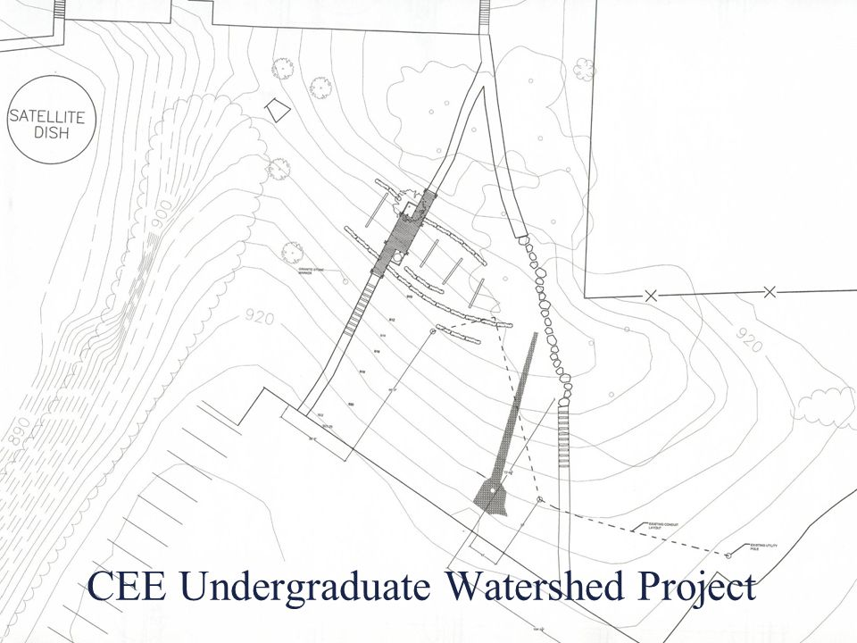CEE Undergraduate Watershed Project