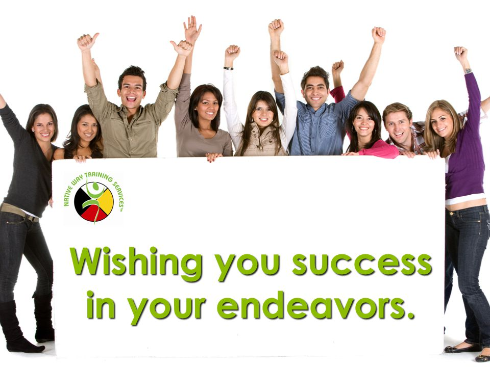 Wishing you success in your endeavors.