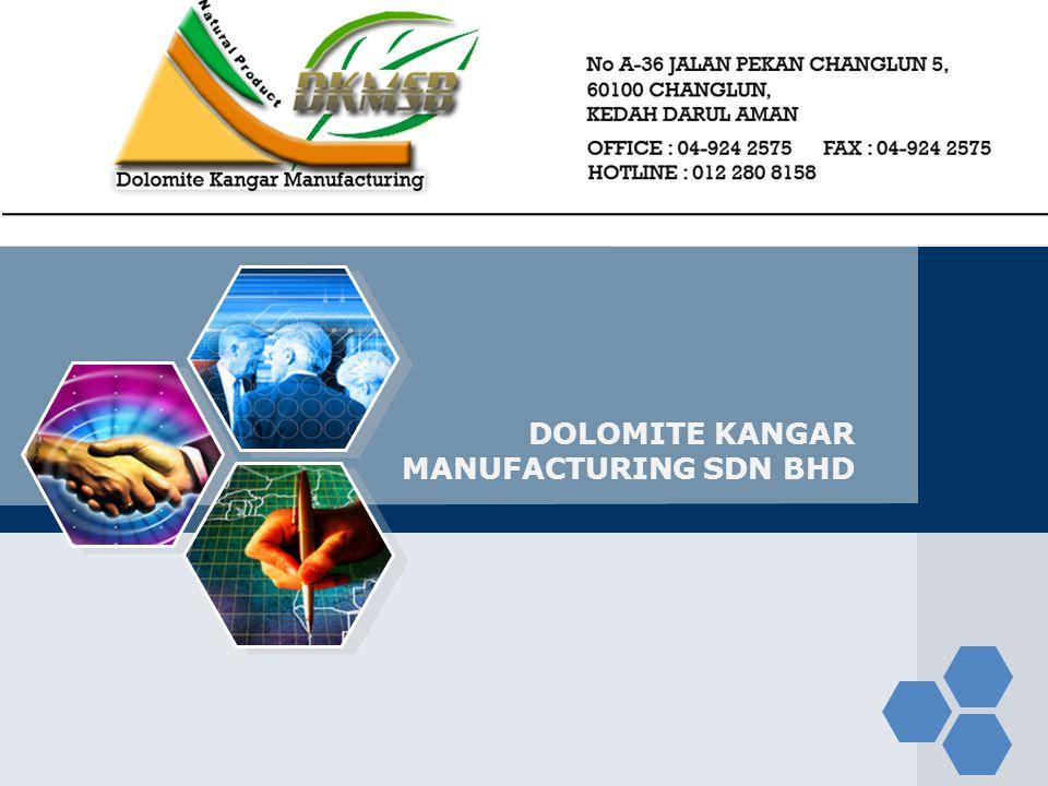 LOGO DOLOMITE KANGAR MANUFACTURING SDN BHD