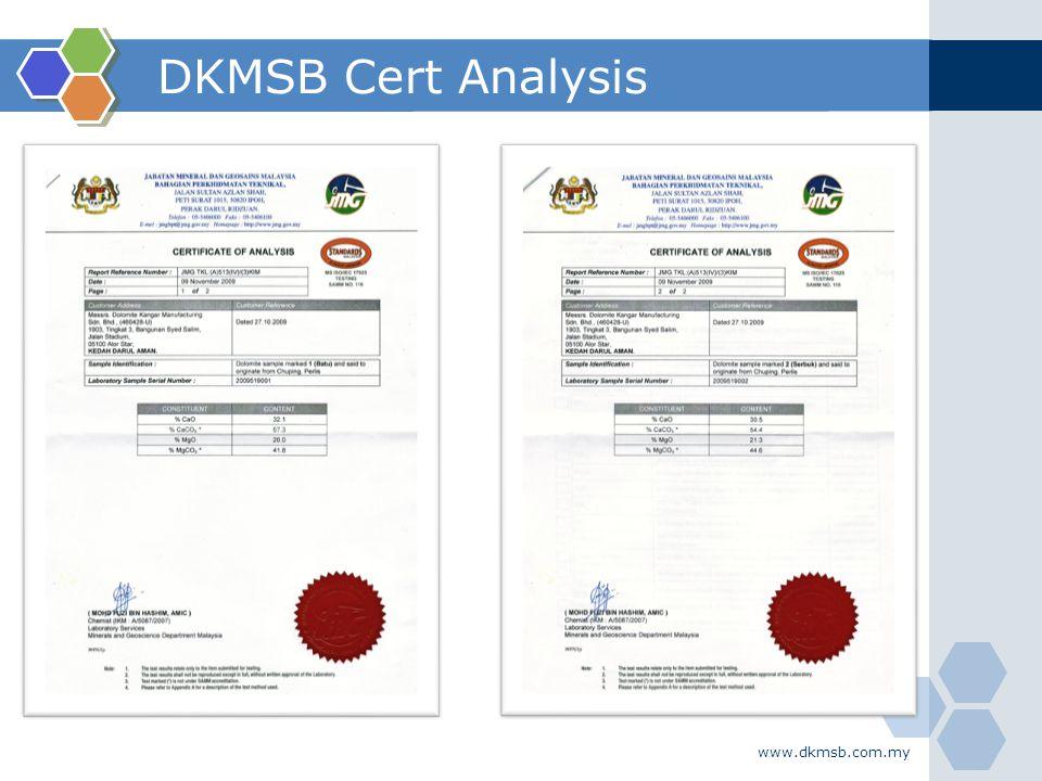 www.dkmsb.com.my DKMSB Cert Analysis