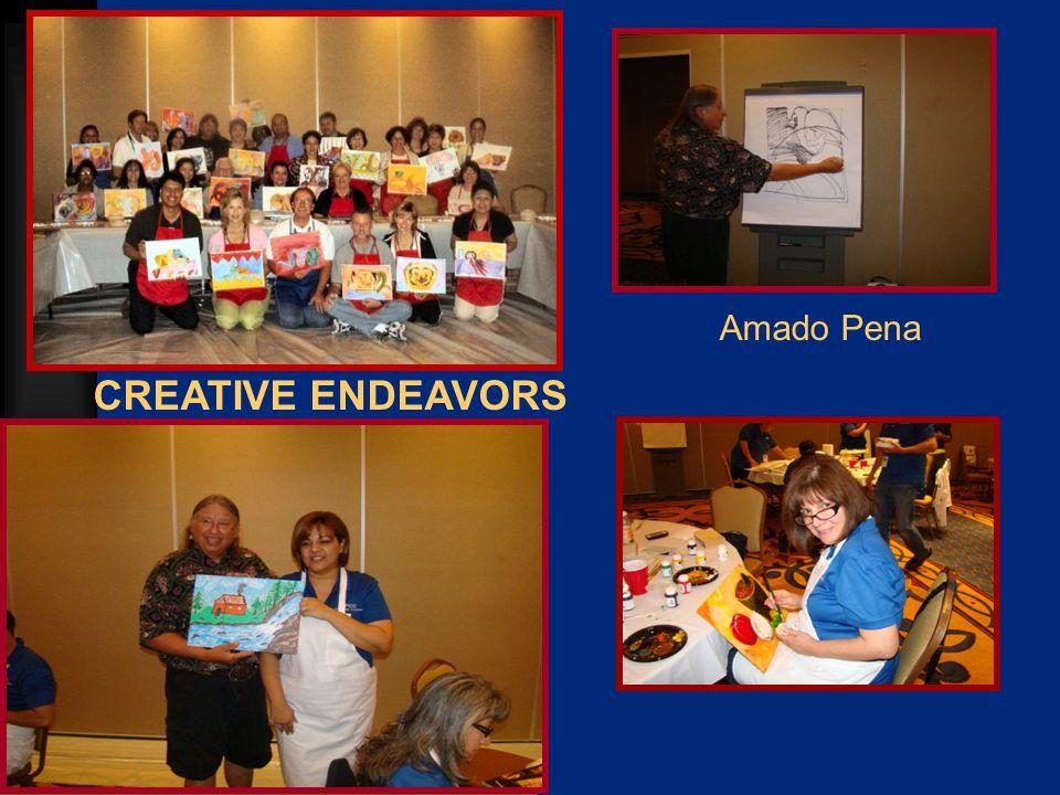 CREATIVE ENDEAVORS Amado Pena