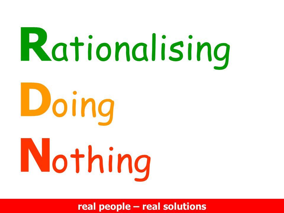 RDNRDN ationalising oing othing