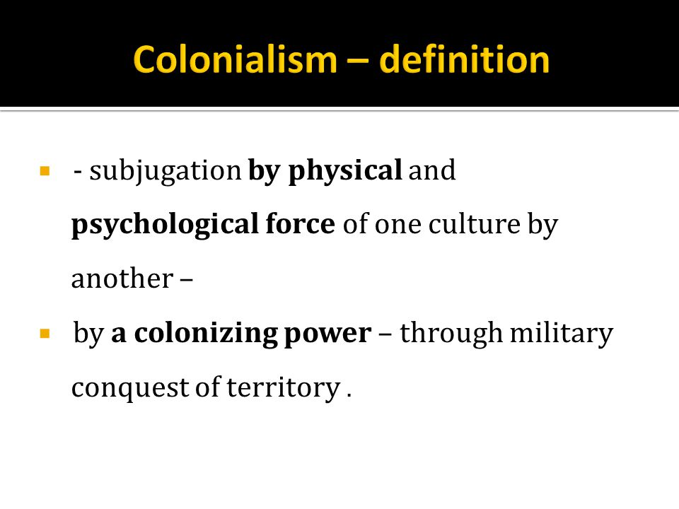 CONDITIONS OF POST-WAR DEVELOPMENT