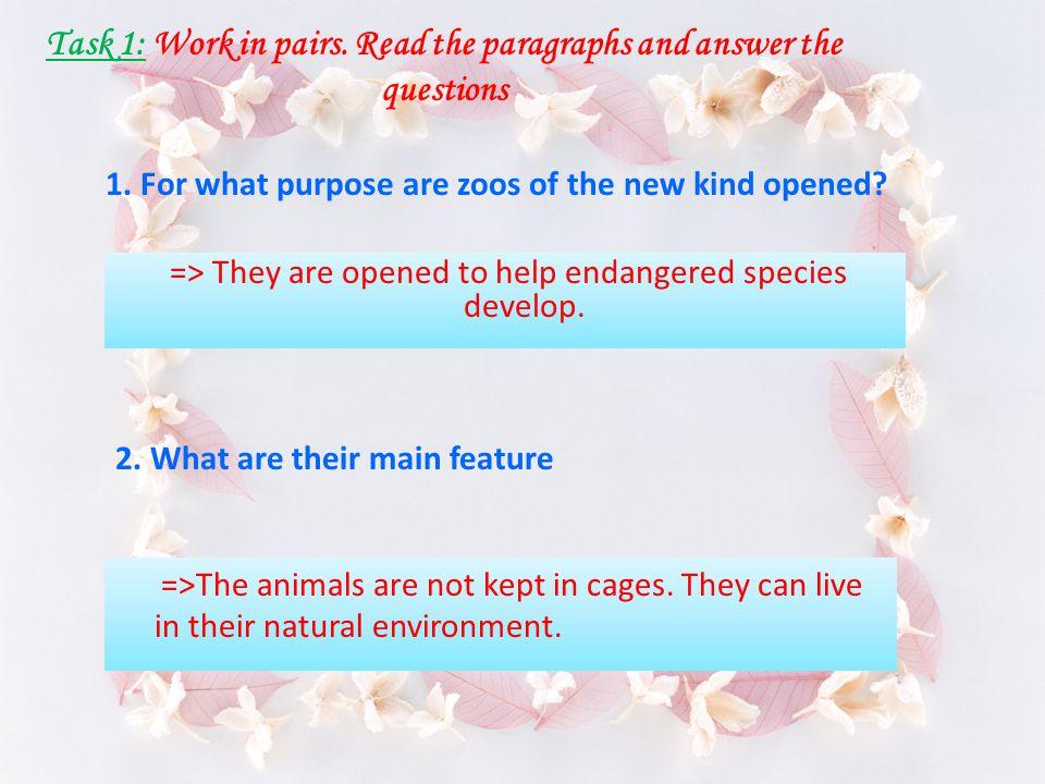 Vocabulary - sensitive / sens ə tiv / (adj): nhạy cảm - imprision / im prizn / (v) : giam giữ - reconstruct / ri:k ə n str ʌ kt/ (v) : xây dựng lại - breed / bri:d / (v) : gây giống, nhân giống - reintroduce /,ri:ntr ə djus / (v) : đưa trở về môi trường sống tự nhiên