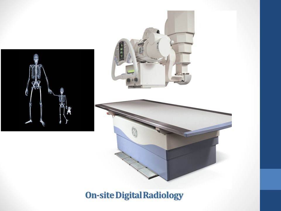 On-site Digital Radiology