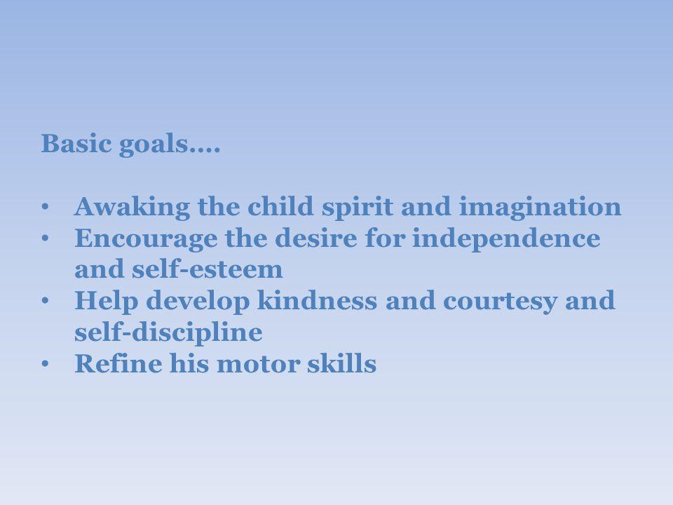 Basic goals….