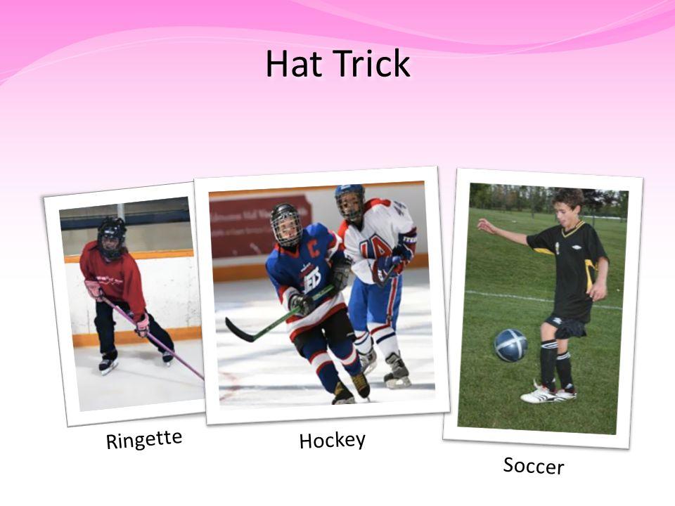 Hat Trick Ringette Soccer Hockey