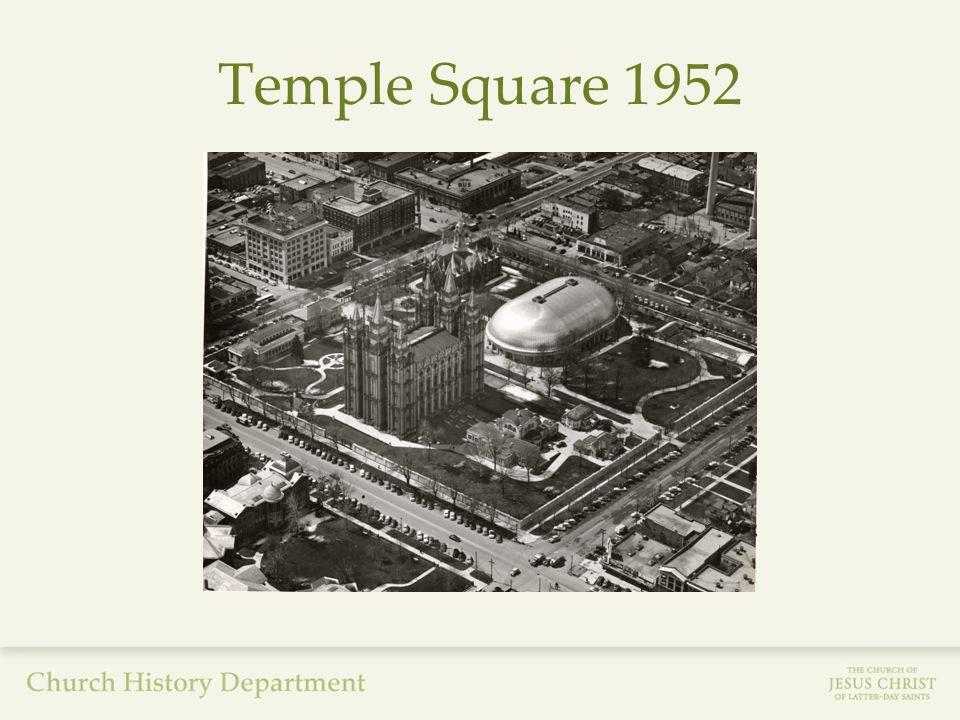 Temple Square 1952
