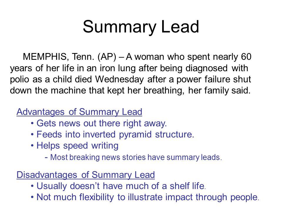 Summary Lead MEMPHIS, Tenn.