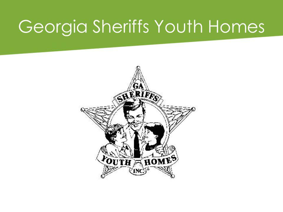 Georgia Sheriffs Youth Homes