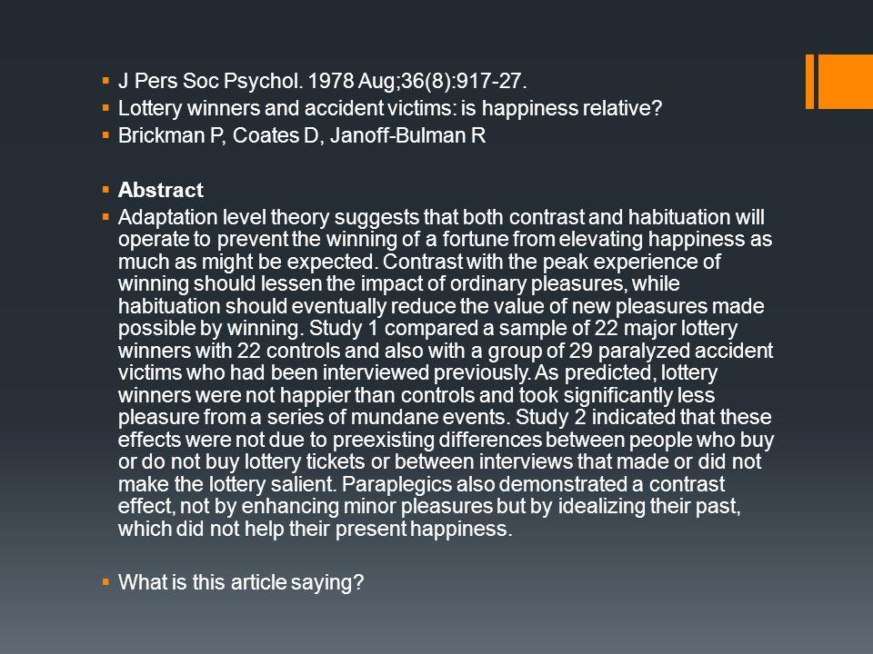  J Pers Soc Psychol. 1978 Aug;36(8):917-27.