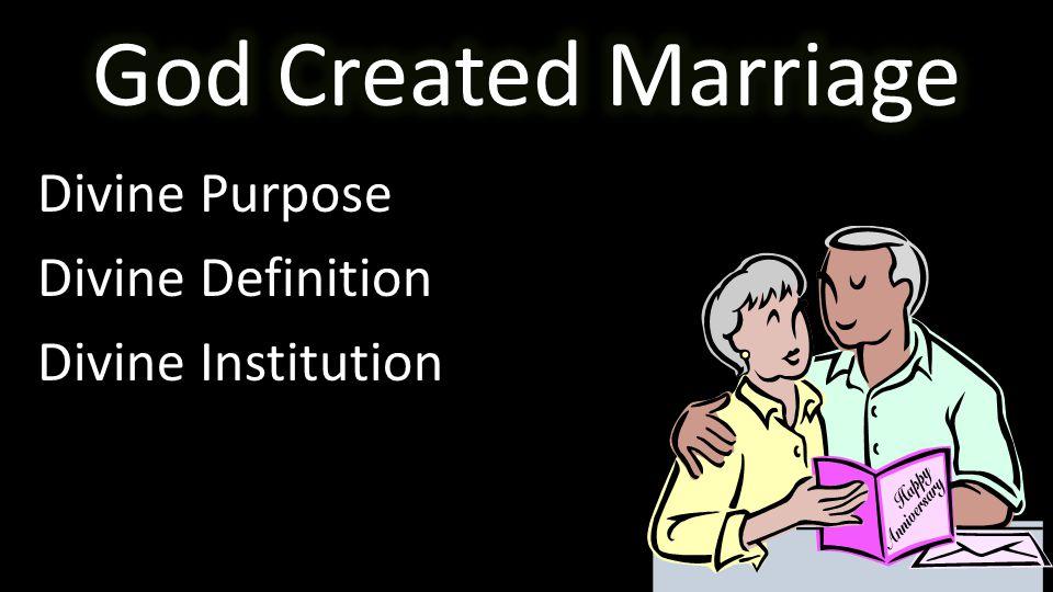 Divine Purpose Divine Definition Divine Institution