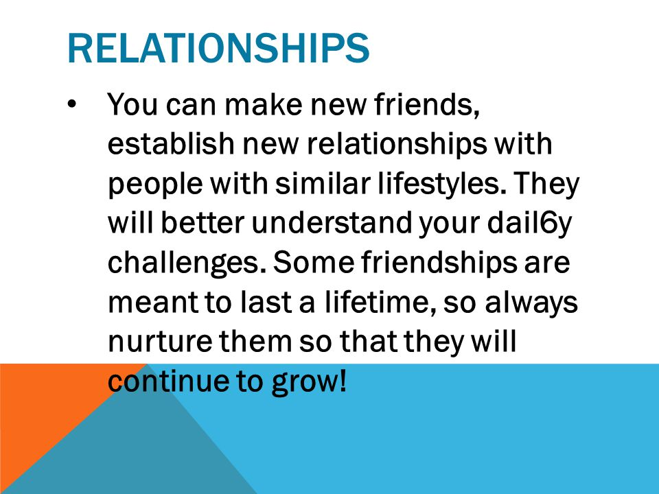 RELATIONSHIPS It's not ALWAYS easy to keep our friendships and family connections strong when you're busy at work. Before you know it, weeks have turn