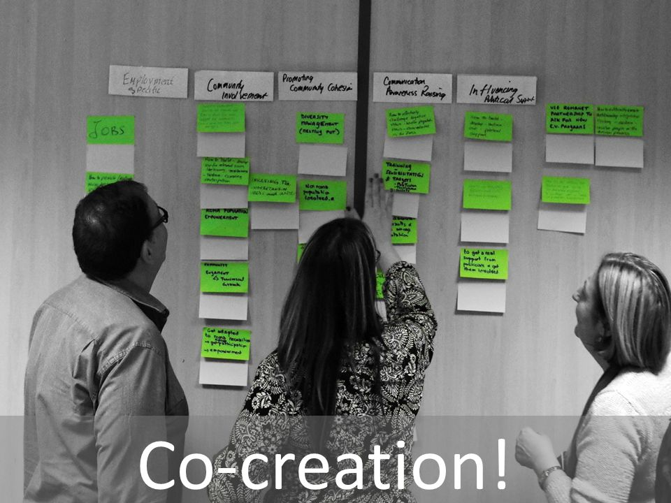 Co-creation!