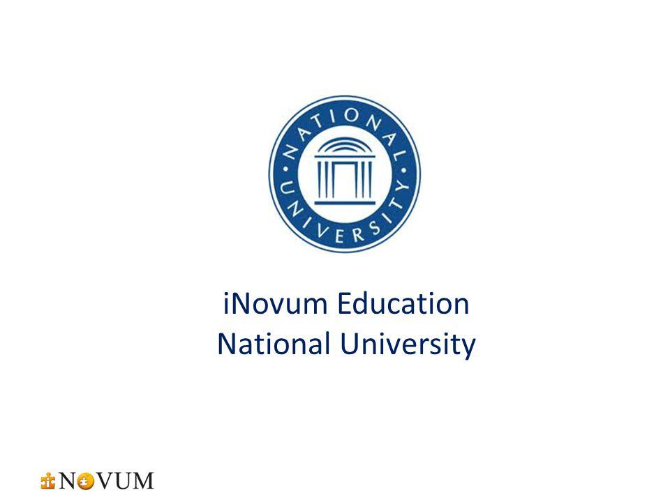 iNovum Education National University