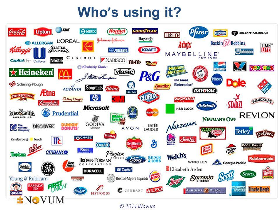 5 © 2011 iNovum Who ' s using it