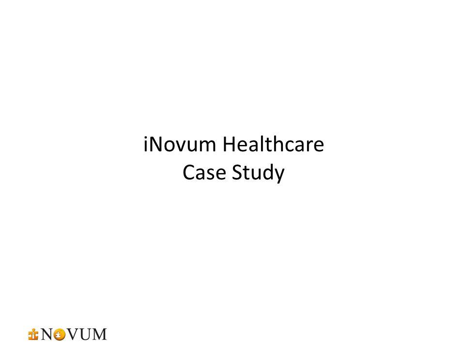 iNovum Healthcare Case Study