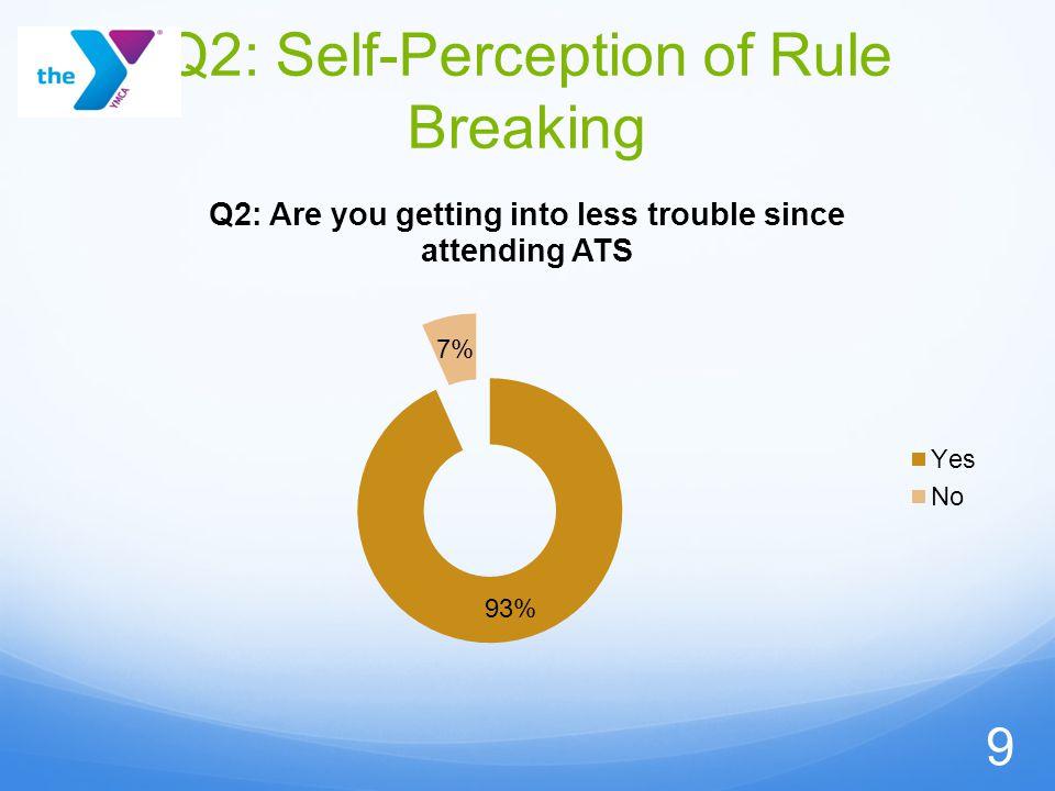 Q2: Self-Perception of Rule Breaking 9