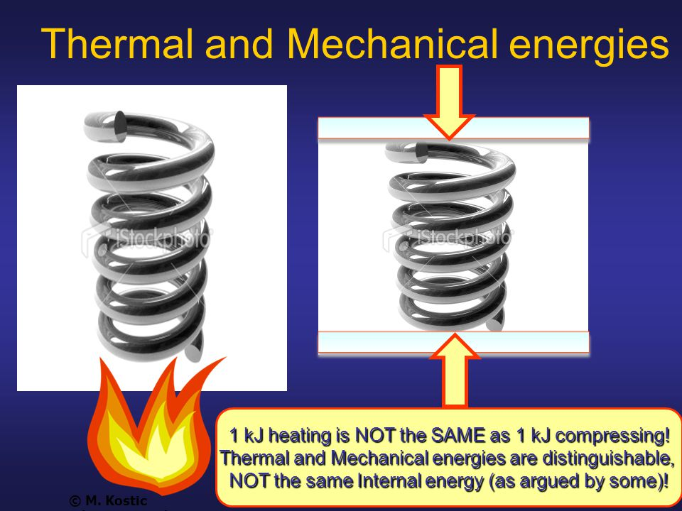 Slide 25 Thermal and Mechanical energies 041115 © M.