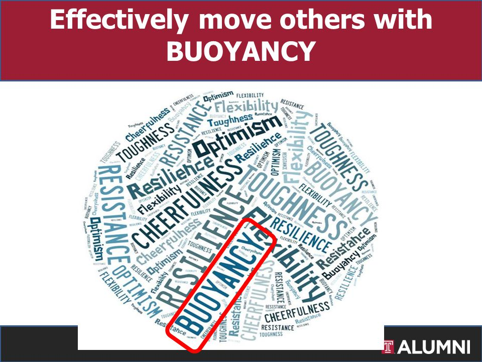 Effectively move others with BUOYANCY