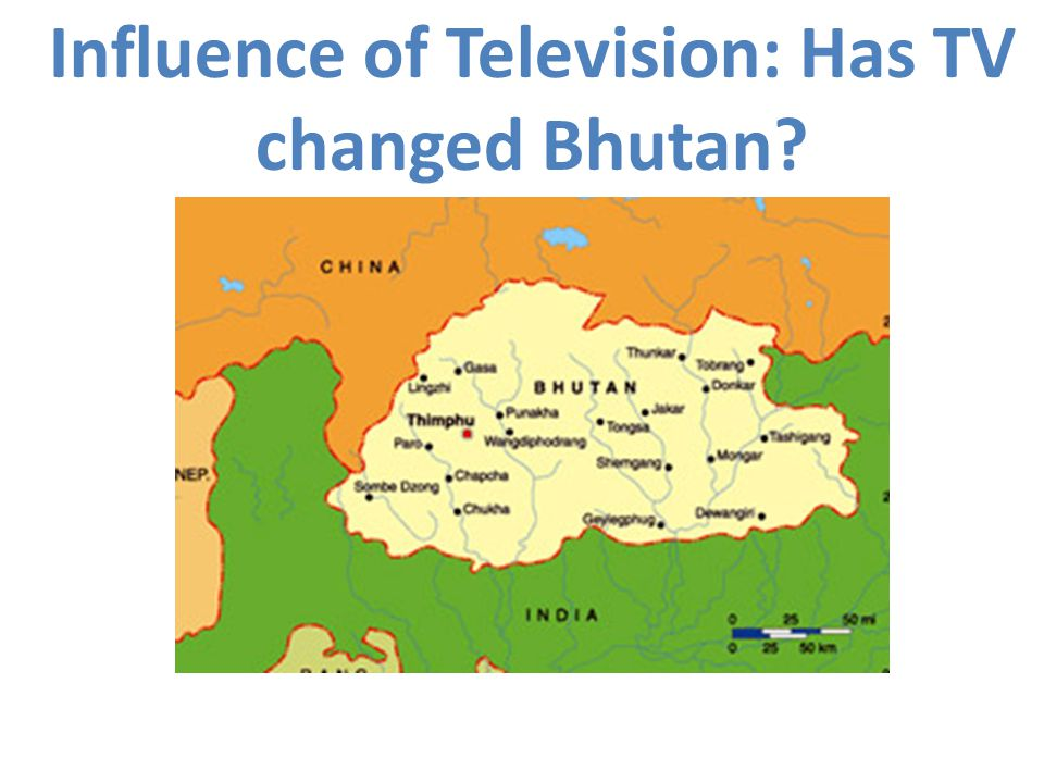 Influence of Television: Has TV changed Bhutan