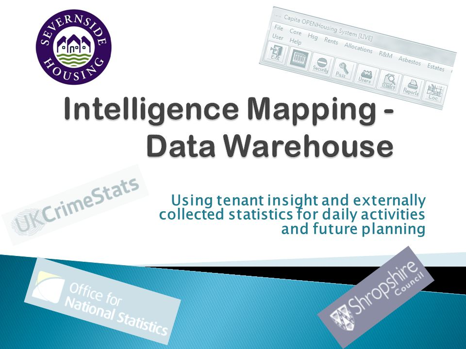 Using tenant insight and externally collected statistics for daily activities and future planning