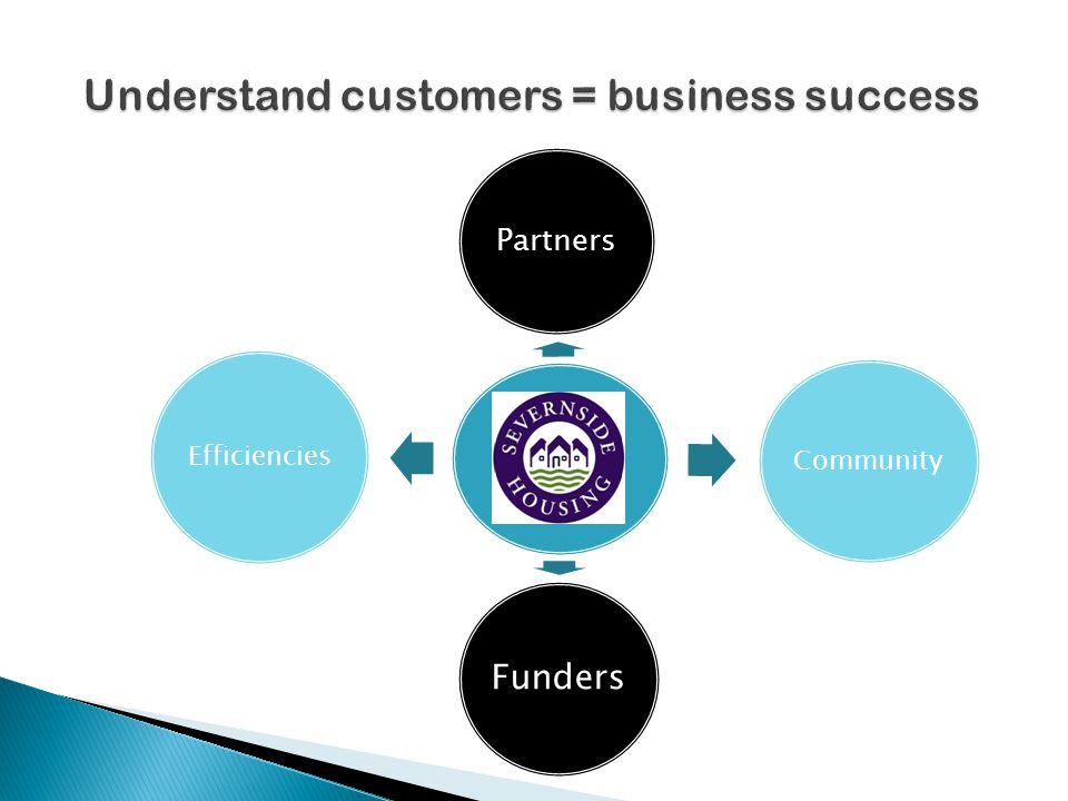 Partners Community Funders Efficiencies