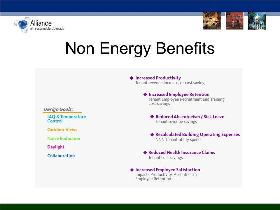 Non Energy Benefits