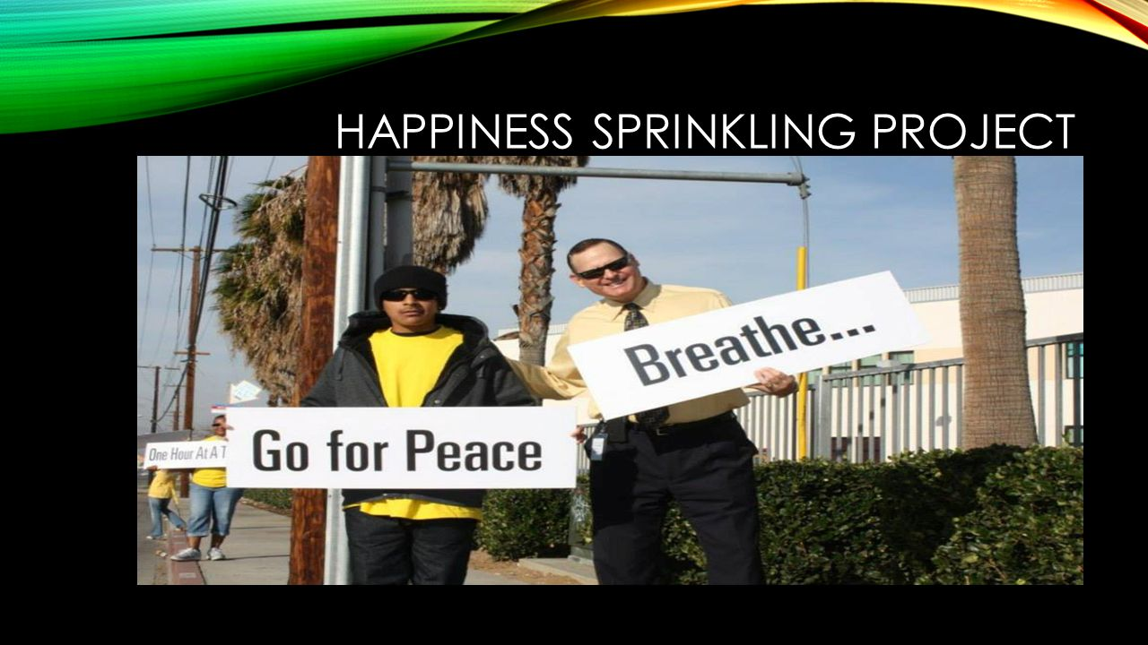 HAPPINESS SPRINKLING PROJECT