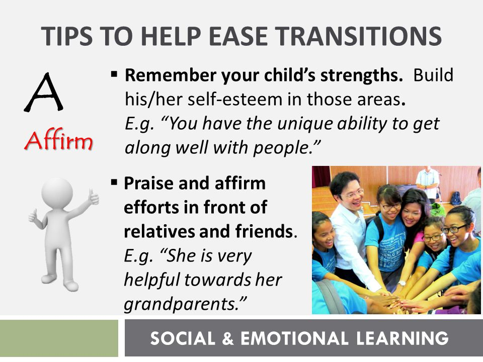 SOCIAL & EMOTIONAL LEARNING Familiarise F Familiarise  Find out what secondary school life is like for students these days.