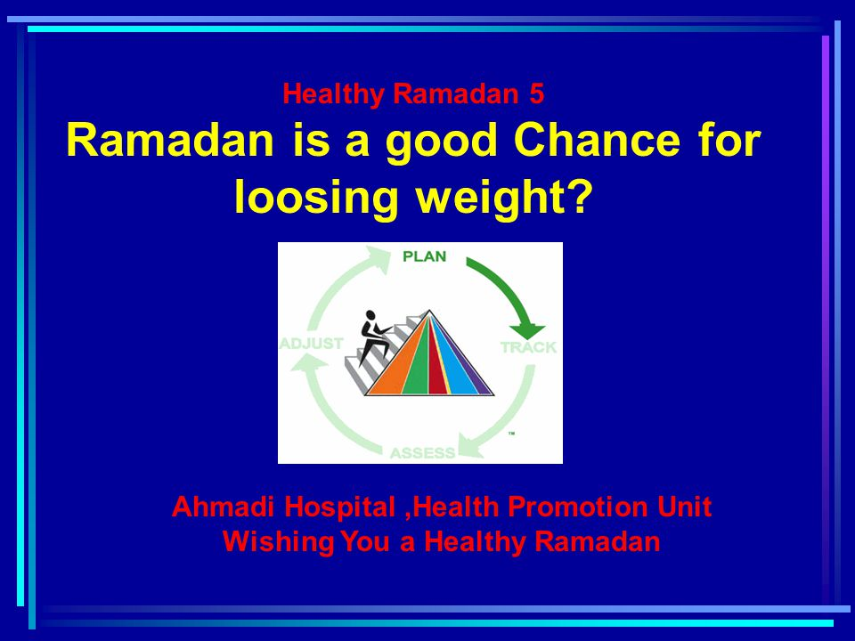 Why people Gain Weight in Ramadan.Because of energy imbalance.