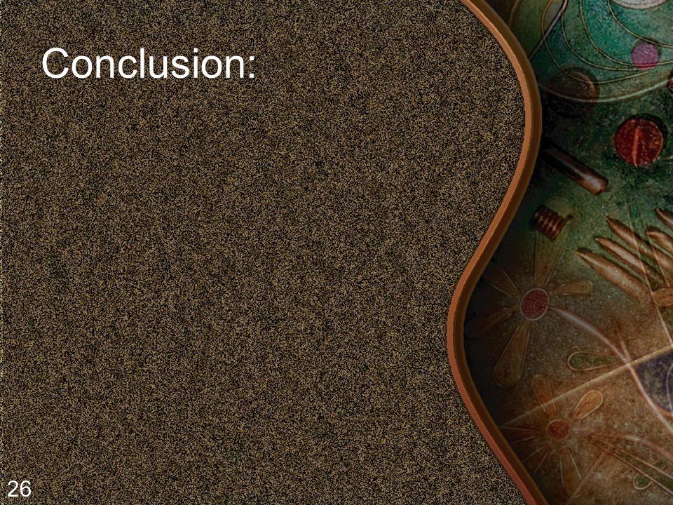 Conclusion: 26