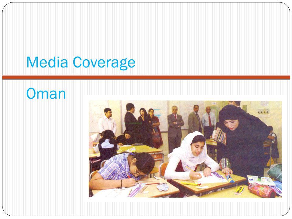 Media Coverage Oman