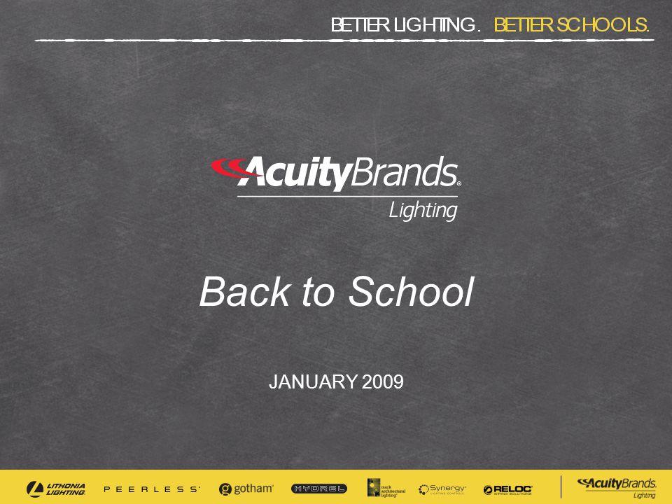 Back to School JANUARY 2009