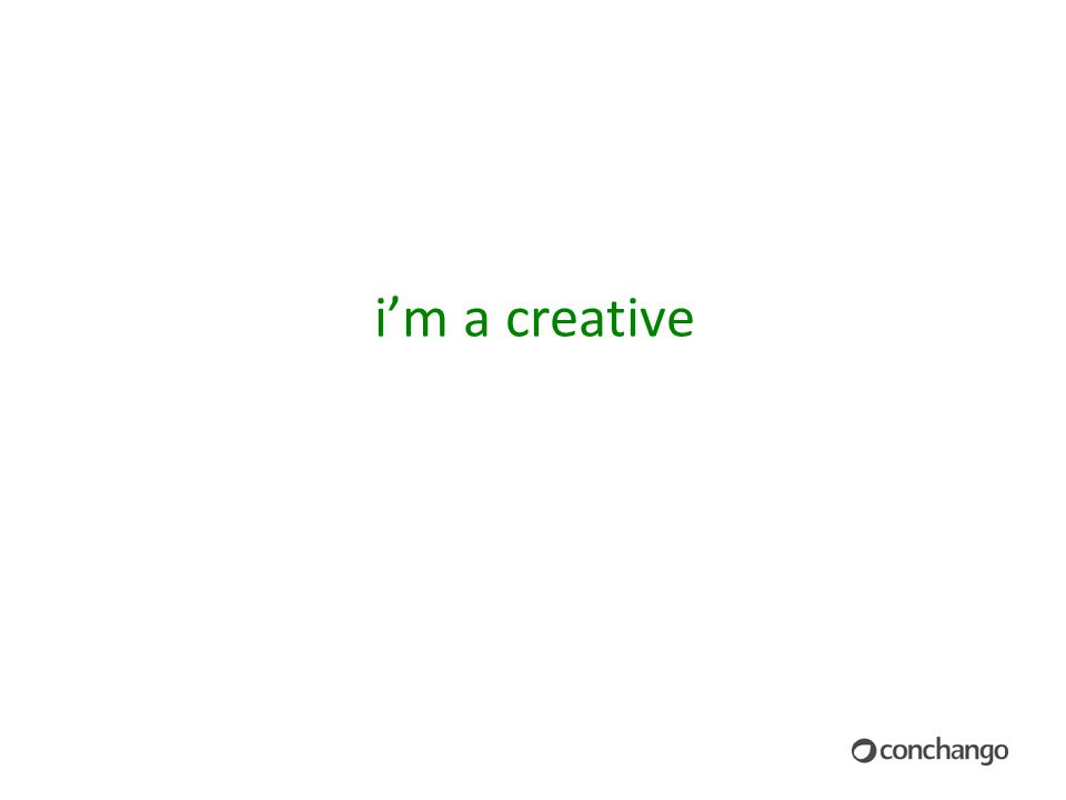 i'm a creative